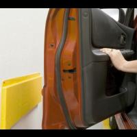 Защитная планка для безопасного открывания двери