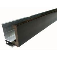 Алюминиевая направляющая для стартового профиля из ДПК
