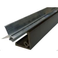 Алюминиевая направляющая для уголка ДПК