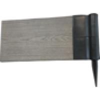 Угловой поворотный элемент для грядоки 150 мм