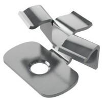 Кляймер металлический  HILST FIX prof 3D alum для террасной доски