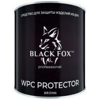 Масло для террасной доски из ДПК Black Fox Protector