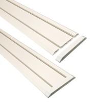 Заглушки белые для направляющих TR150EC-W